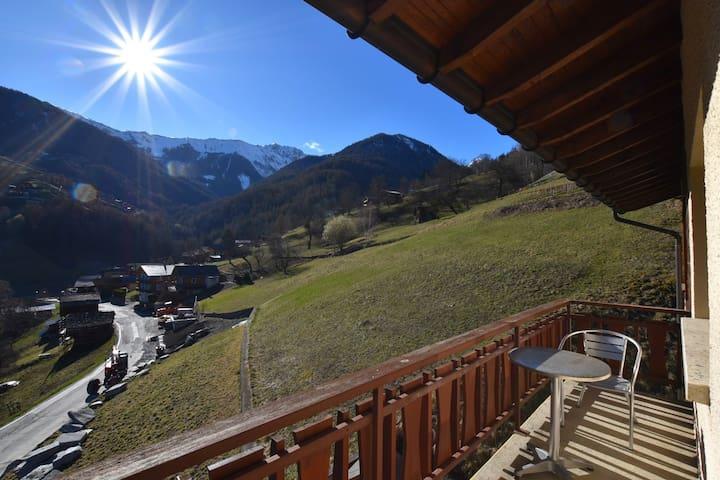 Paradis du ski,VTT et Rando.