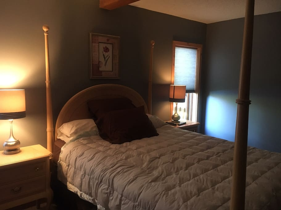 Master bedroom w/queen bed