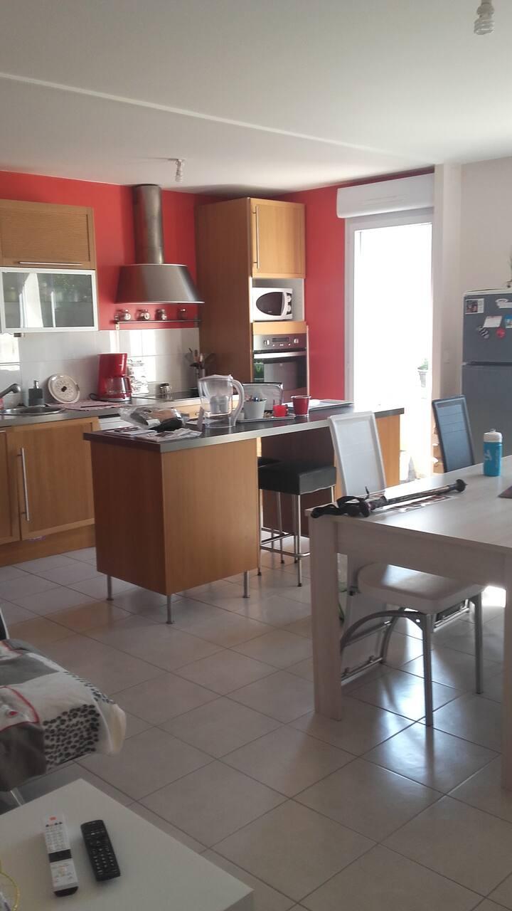 Appartement T3 situé autour du vignoble Nantais