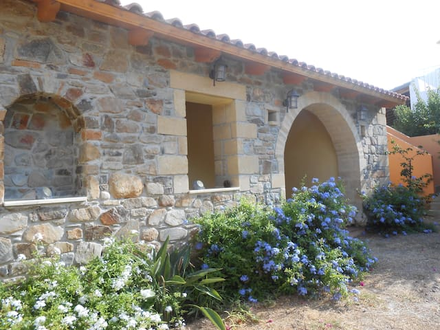 Westküste Kreta schönes Ferienhaus am Meer - Sfinari - Huis