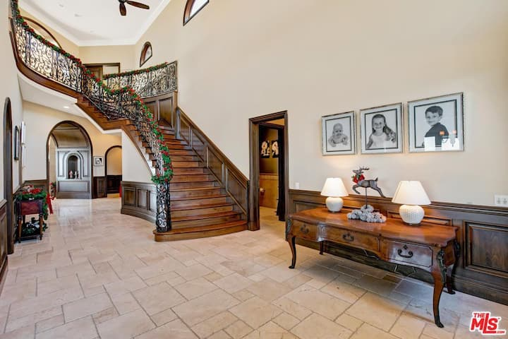 Malibu Mansion with mountain views