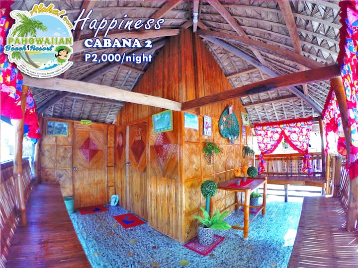 Pahowaiian Beach Resort - Cabana 2: Happiness