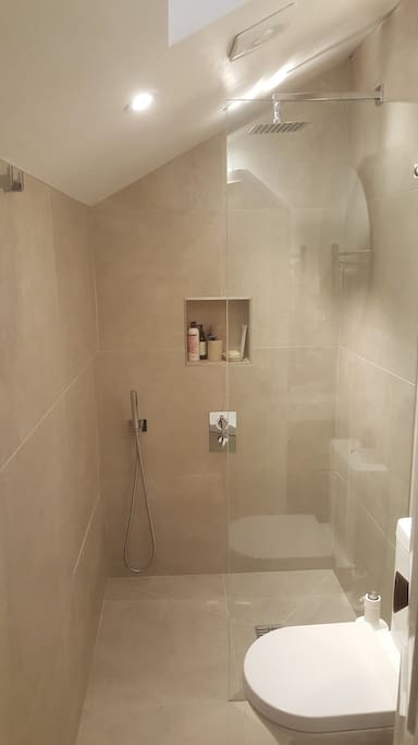 wet room/ toilet - newly refurbished