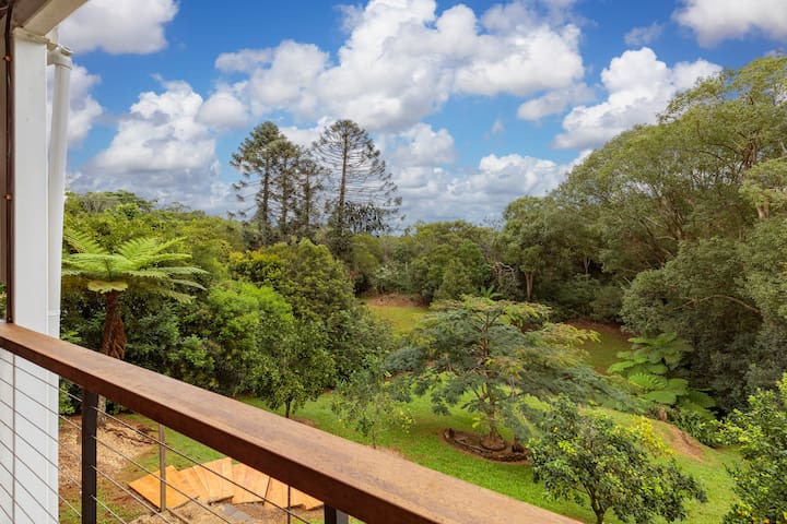 Rainforest outlook from your private deck