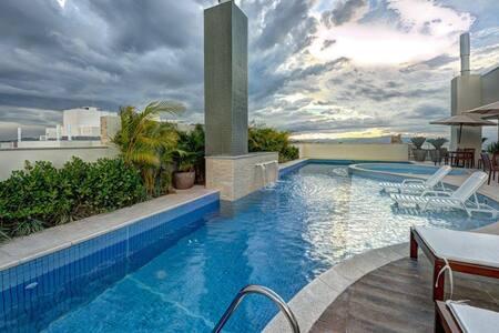 Ótimo Apartamento Hub de Praias & Shoppings - Florianópolis - Pis