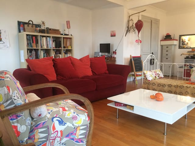 Grande chambre au coeur de ville - Chalon-sur-Saône - Apartament