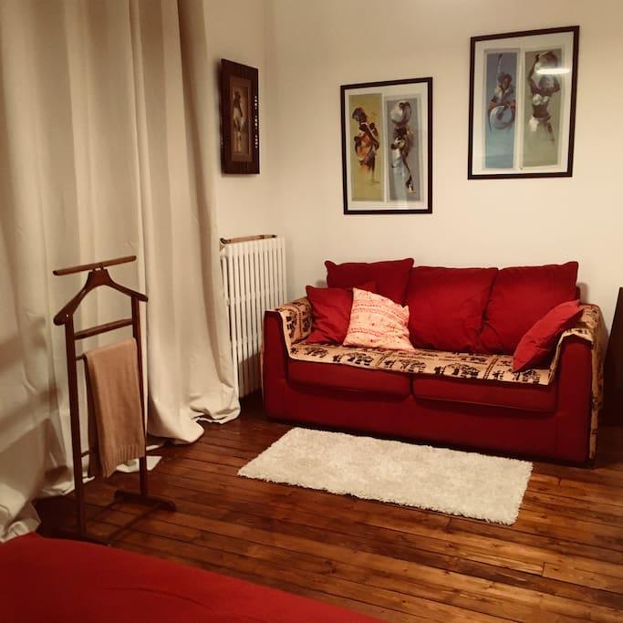 Le canapé lit pour deux enfants