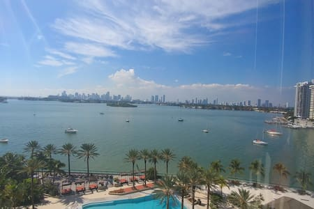 Private Room in a two bedroom unit on South Beach. - Miami Beach