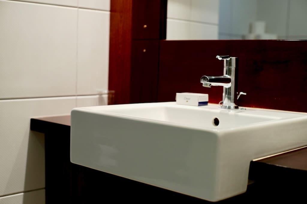 Petite salle de bain cosy