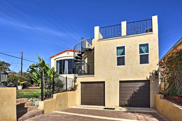 San Diego House w/ View-Walk to Bay & Attractions!