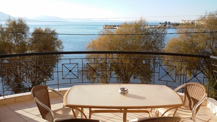 Family friendly apartmnt by the sea - Nea Artaki - Apartment