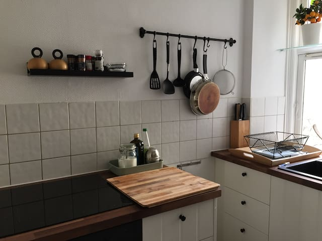 Cosy apartment in unique Jægersborggade!