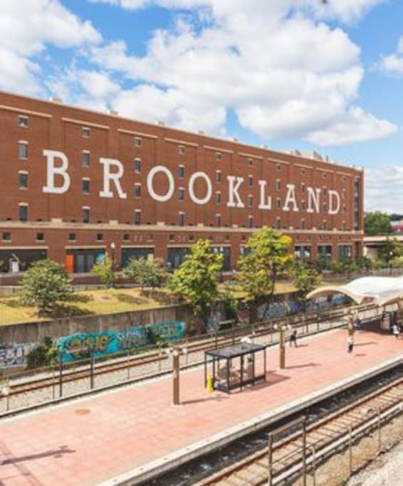 Brookland CUA Metro Station & Arts Walk (0.5 Miles Away)