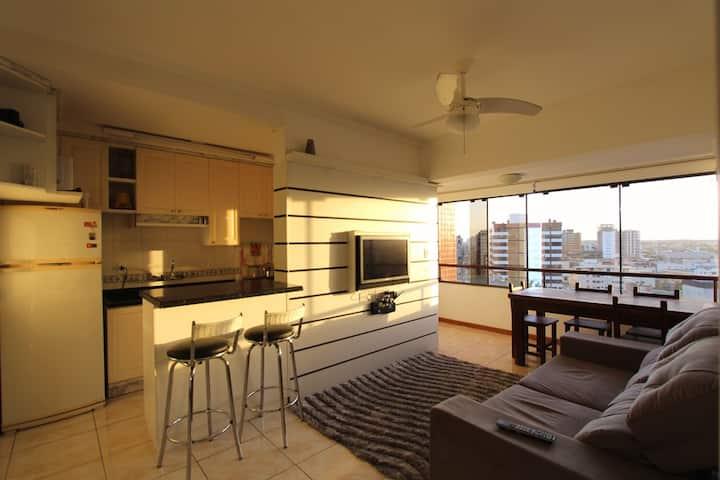 Apartamento com infraestrutura e linda vista!