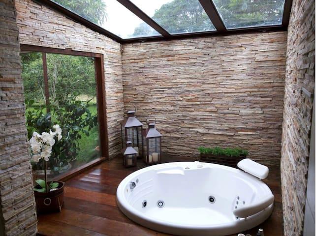 Casa do Lago=Conforto e serviços - Itatiaia - House
