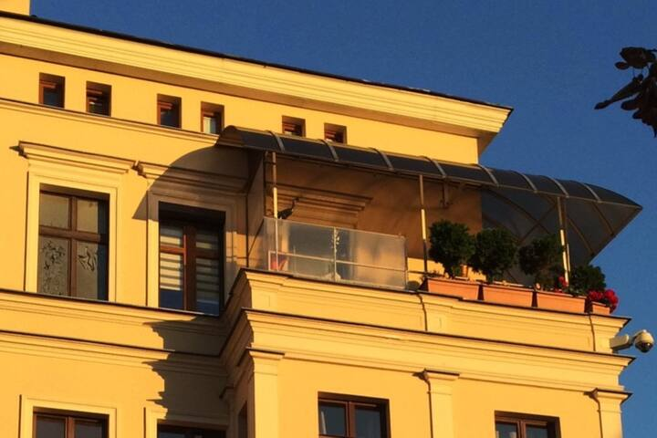 Apt. nr 4-COGITO.HOME -Toruńska Starówka z balkonu