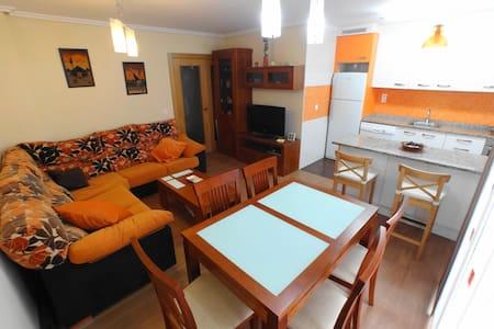 Acogedor apartamento en San Juan de la Arena - San Juan de la Arena - Apartament