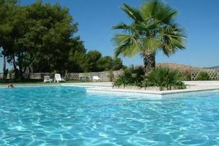 Magnifique grand studio grande terrasse piscine - Biot