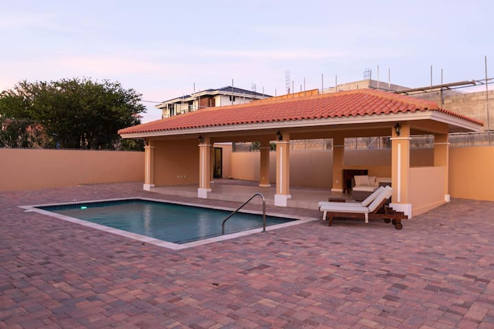 Backyard Pool and Terrace for your entire party to enjoy