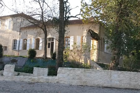 maison 175m² s/ site de charme, loisirs, festivals - Valence-sur-Baïse - Dům