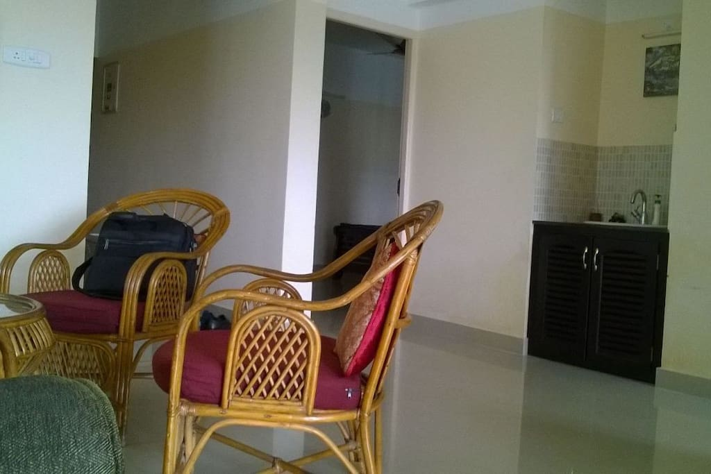 Living room to BHK