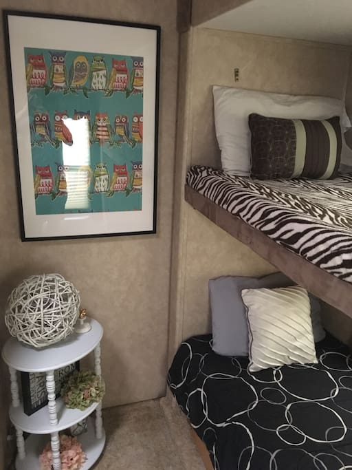 Charming bunk house for kids or guests