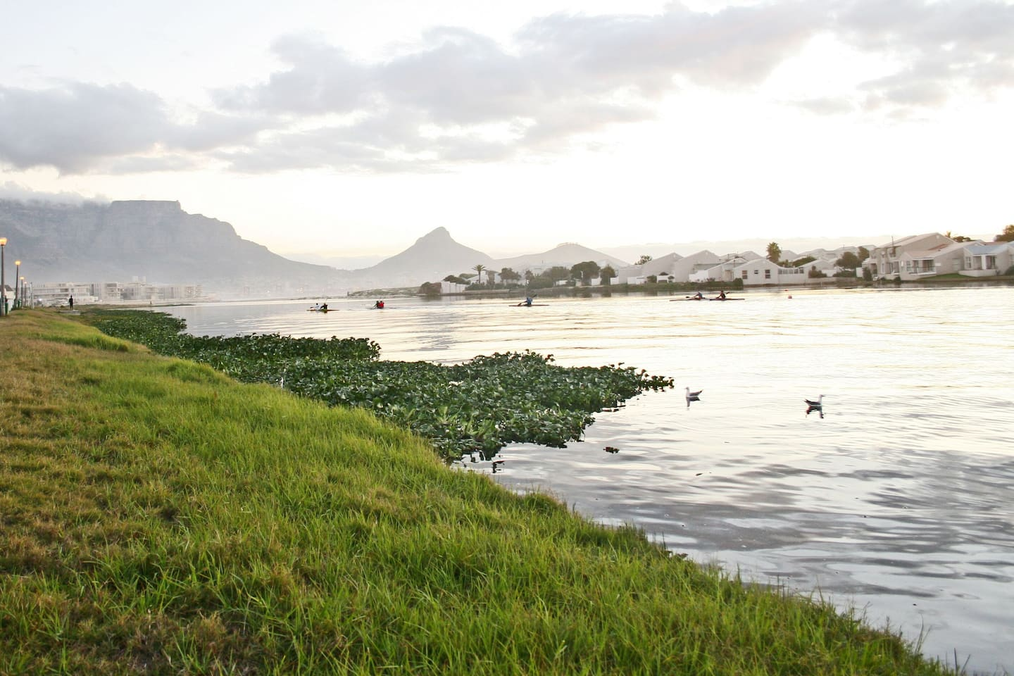 Large 4 Bedroom Home with pool nestled next to Lagoon Beach with the iconic Table Mountain views