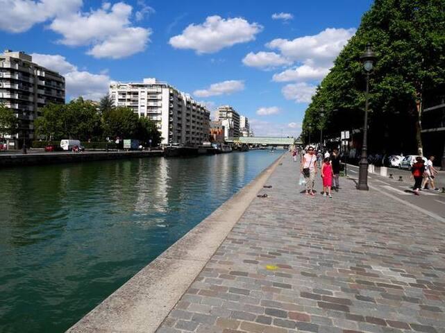 Studio 2p  Paris, 19e