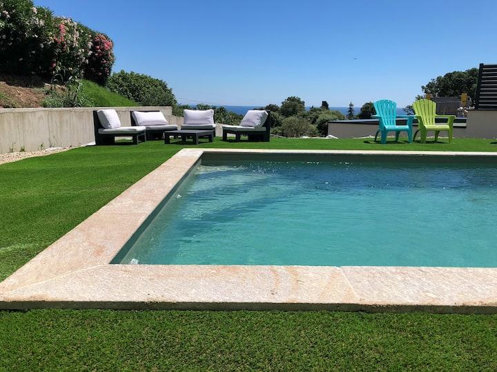 Charmant appartement dans villa, accès piscine
