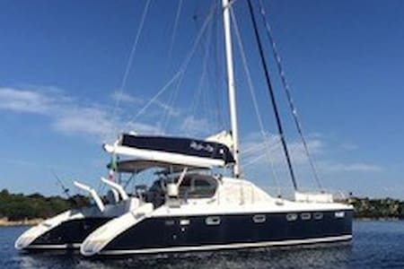 Luxury catamaran sail charter - Porto Pollo - Kapal
