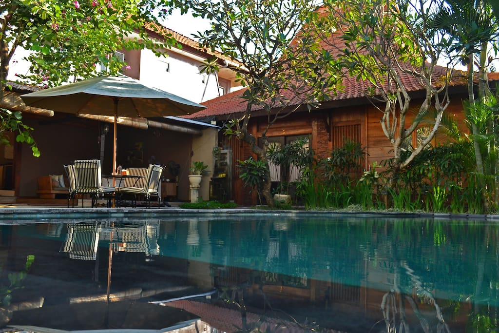 Joglo Villa Bali 3 With Swimming Pool Villas For Rent In Denpasar Bali Indonesia