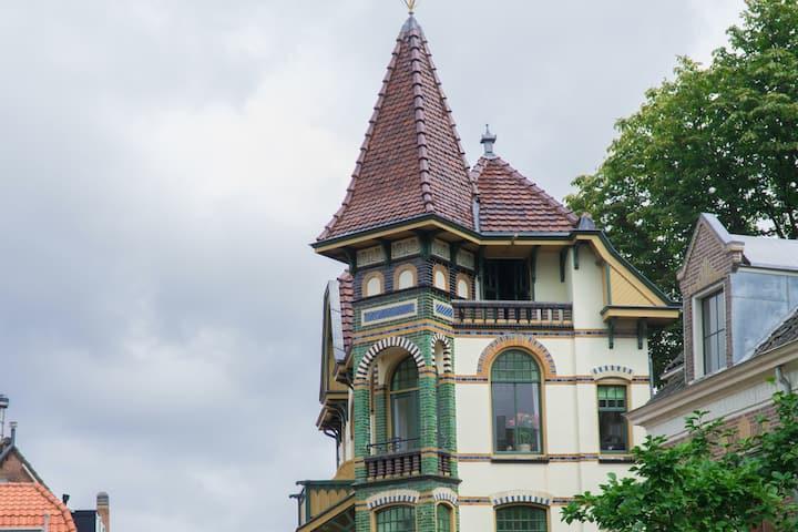 Monumental Castle of Alkmaar (Suburban Amsterdam)