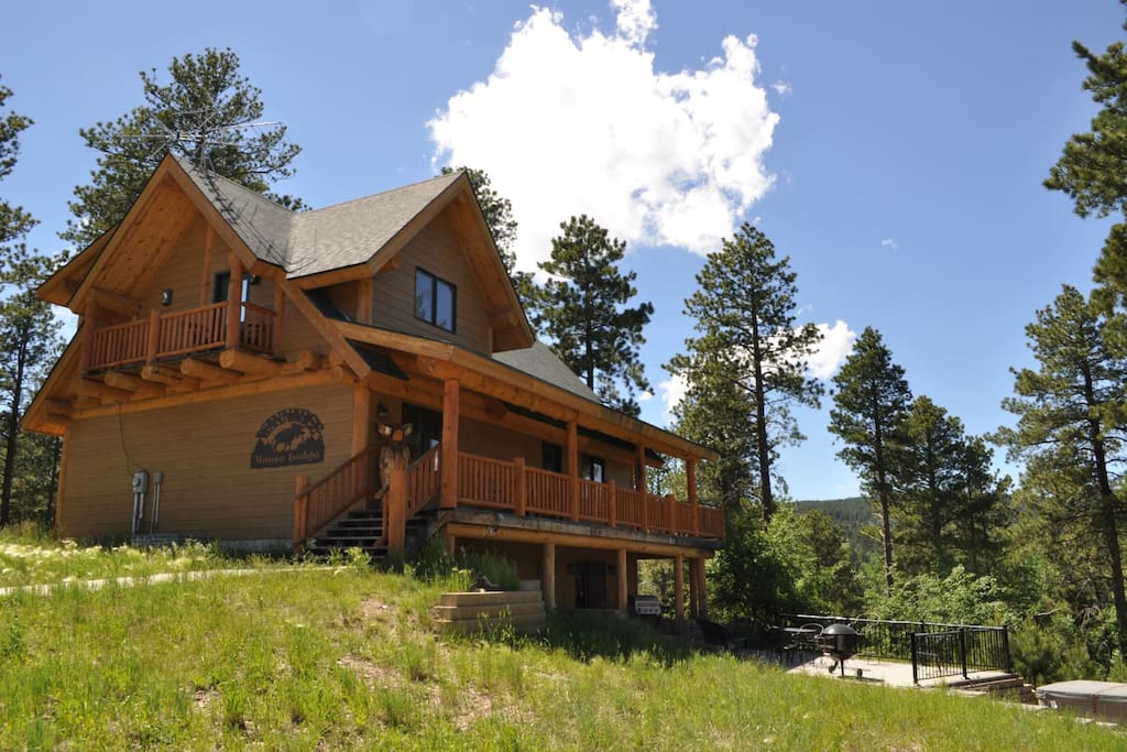 Wannabee Moose Lodge Cabins For Rent In Deadwood South
