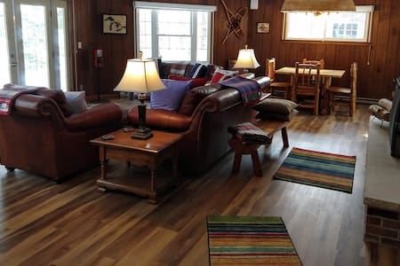 HAGERMAN LAKE!  Authentic UP Waterfront Cottage