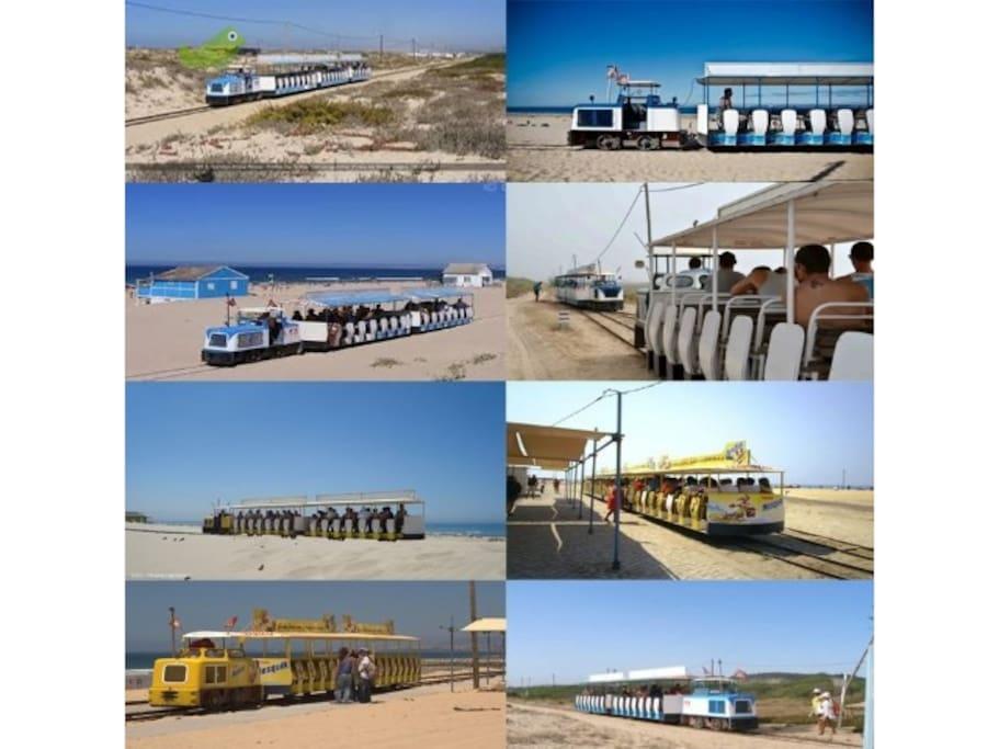 Beach Trains 10 min walk