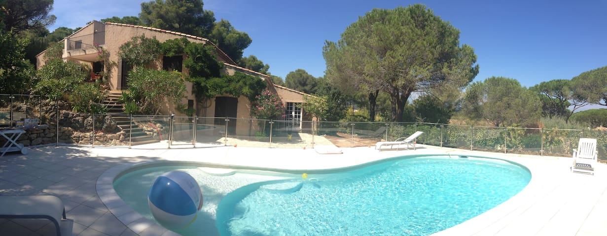 Villa 8 p. avec piscine à Ramatuelle - Ramatuelle - Hus