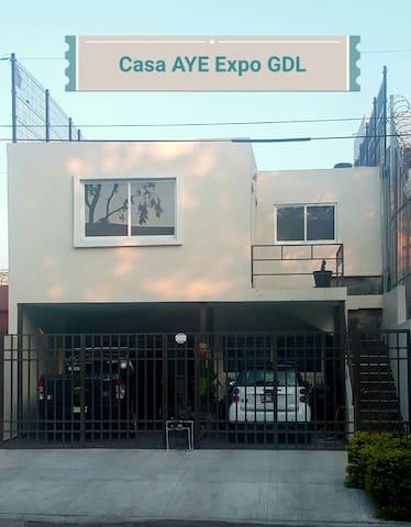 Casa  1 AYE Chapalita Expo Guadalajara-Café Gratis