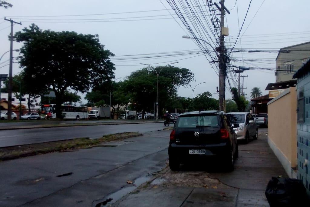 Proximidade da casa para pegar transportes públicos