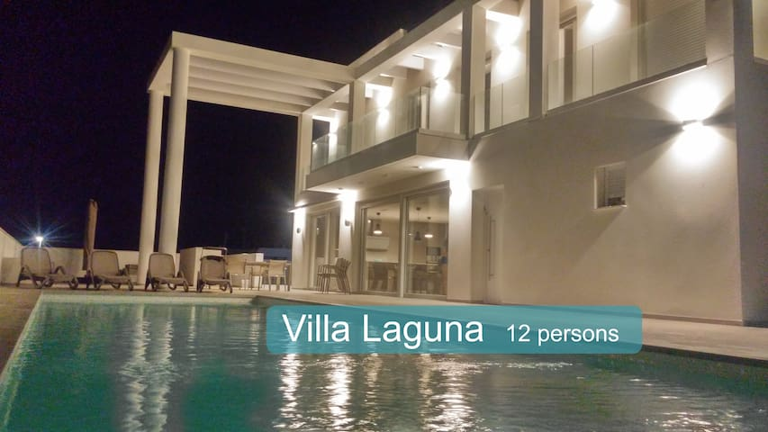Rent spacious Villa Laguna up to 12 people. - San Fulgencio