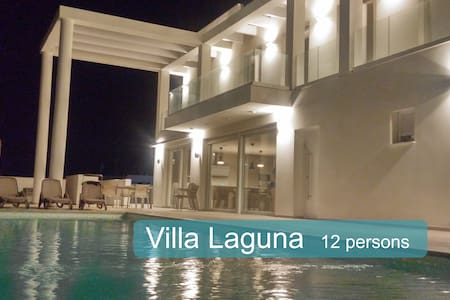 Rent spacious Villa Laguna up to 12 people. - San Fulgencio - Hus