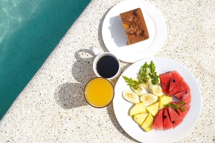Desayuno incluido!
