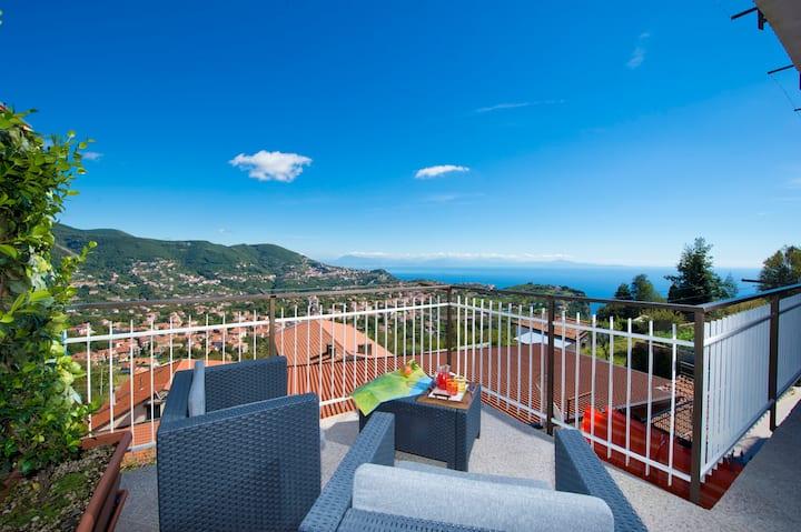 Valle degli  Dei B&b Selene Room on Amalfi Coast