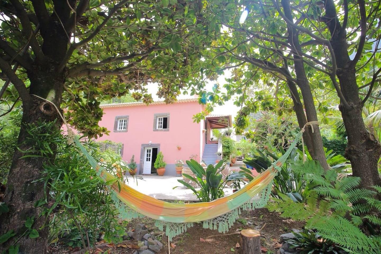 Main house. Garden