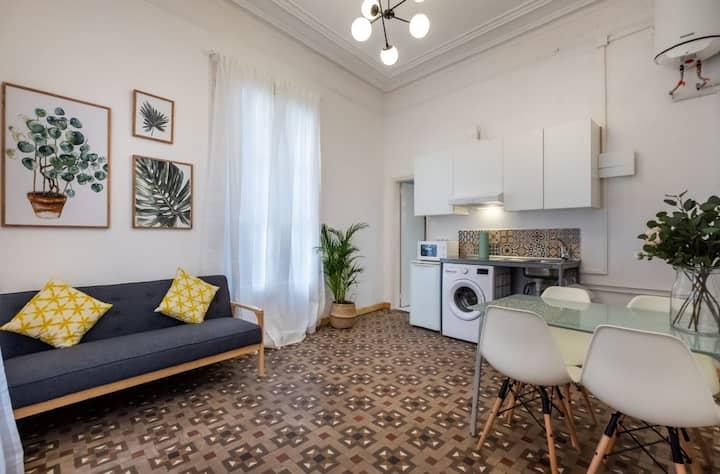 Apartamento de 2 habitaciones en gótico