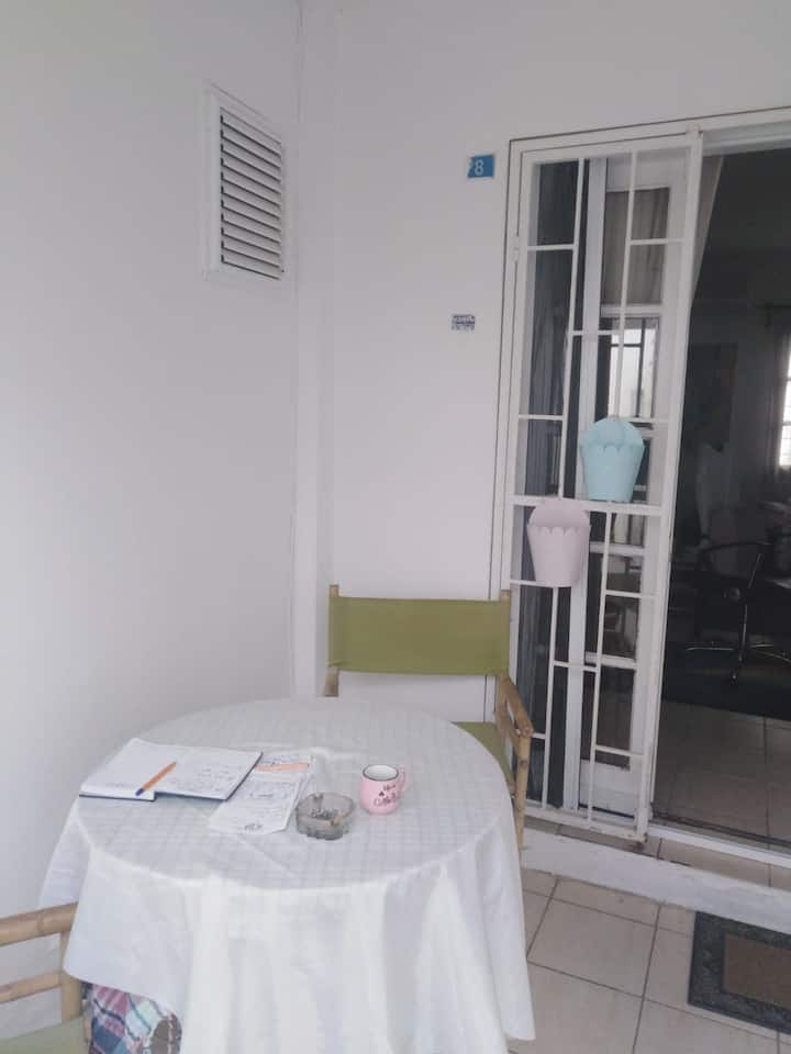 1 bedroom with double sized bed for rent