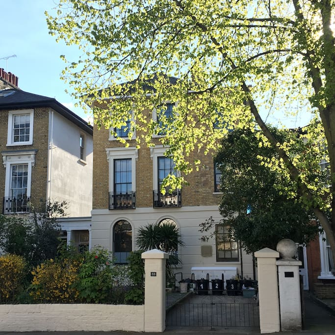 Five storey early Victorian townhouse recently restored