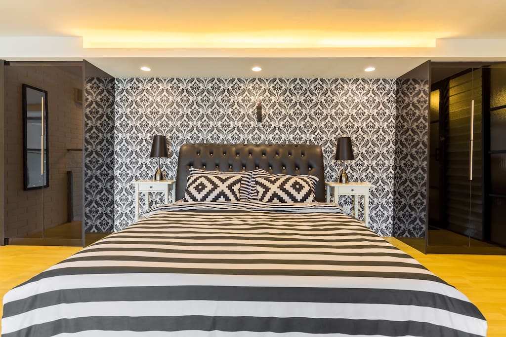map duplex wifi netflix lofts zur miete in petaling. Black Bedroom Furniture Sets. Home Design Ideas