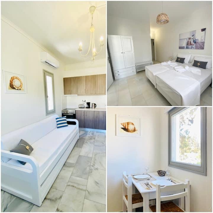 Heart of Paros Apartments - Gata Apartment