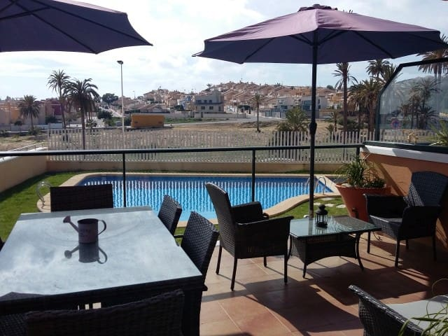 Luxury Apartment with Wi-Fi, Nintendo and Air Con - Mazarrón - Apartment