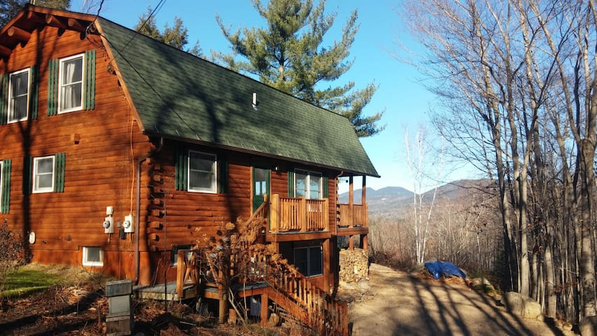 Mountain Views from Log Cabin Dream - Bartlett - Dom